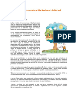 Hoy en Bolivia Se Celebra Día Nacional Del Árbol