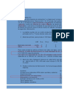 Costeo Directo - La Sabrosura-1