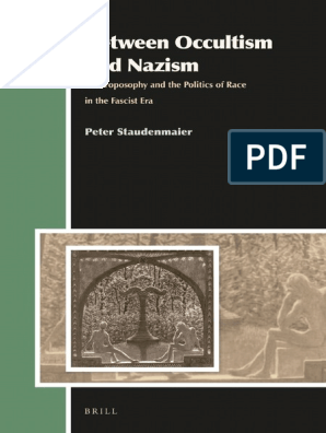 Staudenmaier Peter - Between Occultism and Nazism | Western