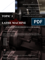 Topic3 Lathe Machine