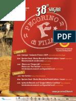 Progamma Sagra Percorino di Filiano 2010