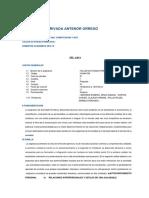 silabus Actividad Formativa I   - upao