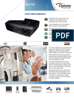 2239 DS325 Optoma Datasheet