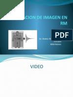Formacion de Imagen en Rm