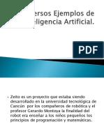 Diversos Ejemplos de Inteligencia Artificial