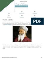 Biografia de Paolo Uccello