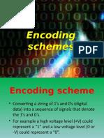 Encoding Schemea