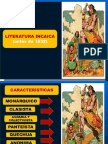 Literatura Peruana Incaica Colonial y Conquista