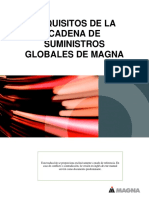 Magna Global Supply Chain Requirements - 03-30-2017 Es