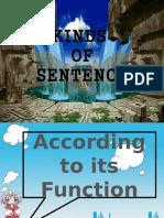Kind of Sentence