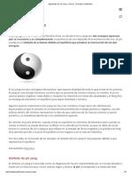 Significado de Yin Yang - Qué Es, Concepto y Definición