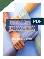 Introducción Al Test Sociométrico
