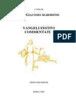 Don Giacomo Alberione - Vangeli Festivi Commentati