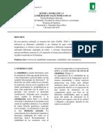 Informe 2- Solubilidad