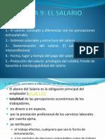 Tema 9 El Salario