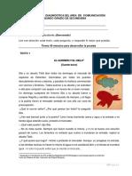 Evaluación diagnóstica COMUNICACIÓN - 2° GRADO.docx