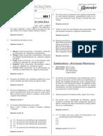 Biologia - Caderno de Resoluções - Apostila Volume 1 - Pré-Universitário - Biologia2 - Aula01