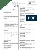 Biologia - Caderno de Resoluções - Apostila Volume 3 - Pré-Universitário - Biologia2 - Aula15