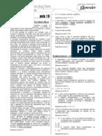 Biologia - Caderno de Resoluções - Apostila Volume 4 - Pré-Universitário - Biologia1 - Aula19