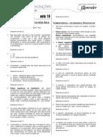 Biologia - Caderno de Resoluções - Apostila Volume 4 - Pré-Universitário - Biologia2 - Aula19