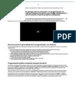 (ArduQuest) Proyecto de Ejemplo Para La Iniciación a La Programación en Arduino Con Programación Por Bloques (Scratch) y Por Código - Sitio Web de Javier García Escobedo (Javiergarciaescobedo