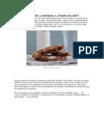 Galletas de Nutella y Avellanas