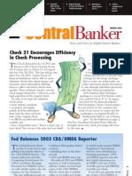 Central Banker - Winter 2003
