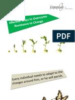 Commlab Overcoming Resistance to Change