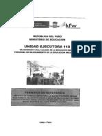 TDR - Supervisión 05 Obras en San Miguel y Chungui-SCC10
