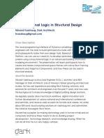 Computational Logic in Structural Design2