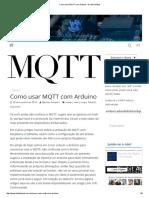 Como Usar MQTT Com Arduino • Do Bit Ao Byte