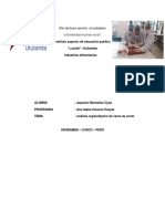 analisis organoleptico