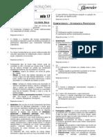 Biologia - Caderno de Resoluções - Apostila Volume 4 - Pré-Universitário - Biologia2 - Aula17
