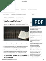 """""""Jesús en el Talmud"""".pdf"""