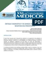 Enfoque de La Infeccion Por Microorganismo Productor de Betalactamasas