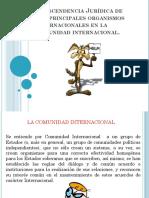 Principales Organismos Internacionales