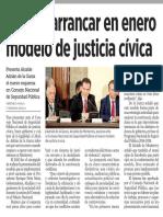 31-08-17 Prevén arrancar en enero modelo de justicia cívica