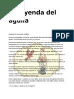 La Leyenda Del Aguila