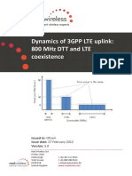 Dynamics of 3gpp Lte Uplink