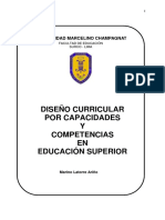 D. Curricular Educacion Superior