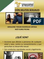 PERFILACIÓN DELITOS SEXUALES