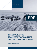 The Geographic Trajectory of Conflict and Militancy in Tunisia