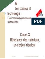 Cours 3 - Initiation a La RDM