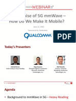 The Promise of 5g Mmwave How Do We Make It Mobile