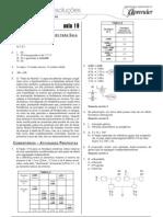 Biologia - Caderno de Resoluções - Apostila Volume 4 - Pré-Universitário - Biologia4 - Aula19