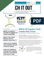 Tech It Out - Sept 2017