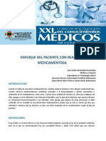 Enfoque Del Paciente Con Reacción Medicamentosa