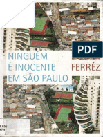 Ferréz - Ninguém é inocente em Sao Paulo