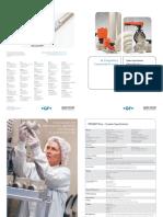 System Specification Flyer - PROGEF Plus