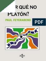 Libro Porque No Platon!!!!!